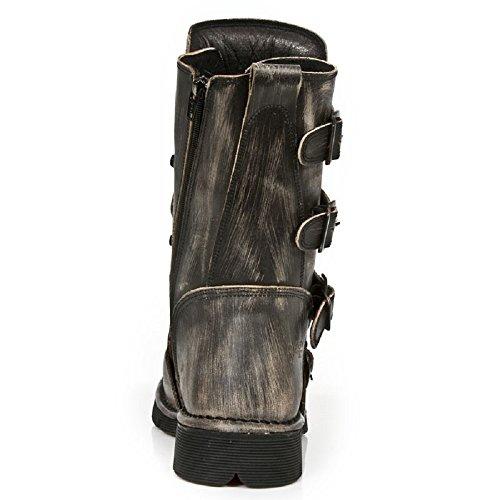 S1 Schwarz 1473MTL Stiefel Light BLACK New Rock BLACK Comfort M twxq40H60