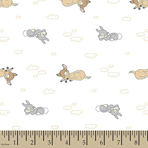 Disney Bambi Sweet Dreams Bambi Flannel Fabric by The Yard