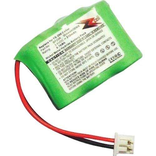 ZZcell Battery for Dogtra Receiver BP20R 175NCP, 200NCP, 202NCP, 280NCP, 282NCP, 300M, 302M, 7000M, 7002M, EF-3000 Old, YS-200 Remote Controlled Dog Training Collar -