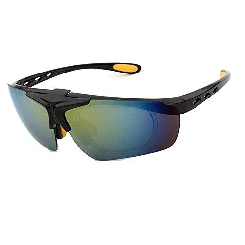 de la de Tirón del Skyeye de A Coloridas Gafas Tendencia Sol los Hombres HwSUq45