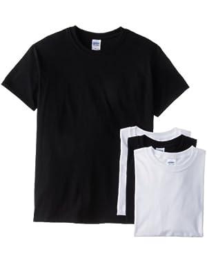 Men's Short Sleeve 4-Pack Cotton Jersey T-Shirt