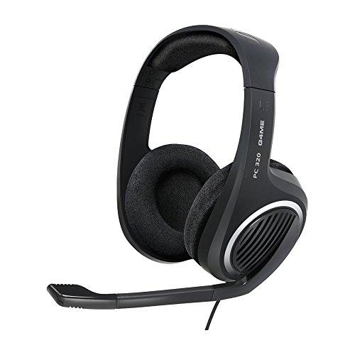 Sannheiser PC320 Headset estéreo com microfone para PC, Preto - Xbox One