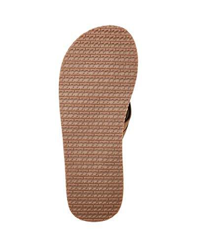 Billabong Mens All Day Leather Flip-Flop