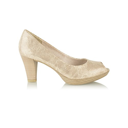Zapatos grises formales Marco Tozzi para mujer q4CDrADxr