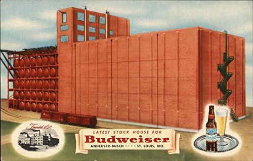 Budweiser - Latest Stock house 14 for Budweiser Anheuser-Busch Original Vintage Postcard