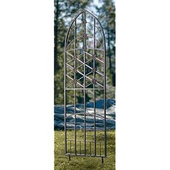 H Potter Garden Trellis Wrought Iron Weather Resistant Patio Wall Art 309