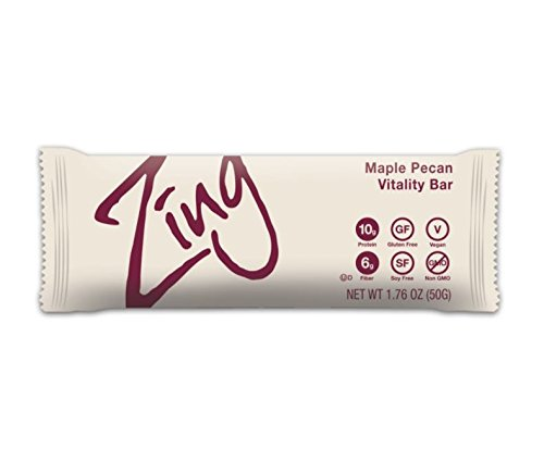 Zing Nutritional Bar  Soft Cookie  12 Count
