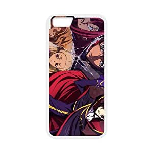 Protection Cover iPhone 6 Plus 5.5 Inch Cell Phone Case White Dfipv Code Geass Personalized Durable Cases