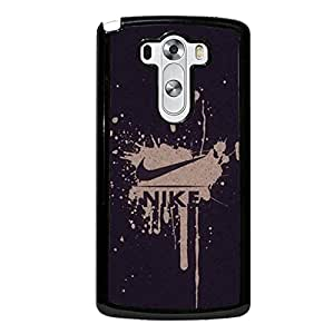 Vintage Fashion Nike Cover Phone Case for LG G3 Brand Logo Series Flexible Cover Case the Logo of Nike