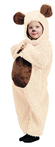Bear Oatmeal Toddler Costumes - Charades Baby Plush Oatmeal Bear Costume,