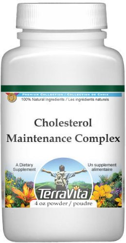 Cholesterol Maintenance Complex Powder - Boldo, Centaury, Fumitory and More (4 oz, ZIN: 512171)
