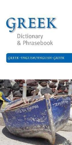 Greek-English/English-Greek Dictionary & Phrasebook pdf epub