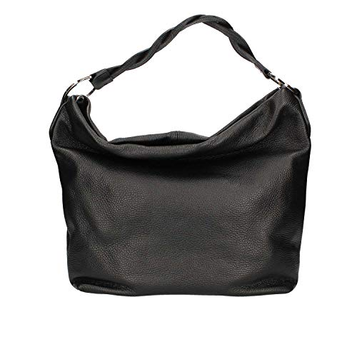 Loristella 2245 Sac à bandoulière noir pour femmes