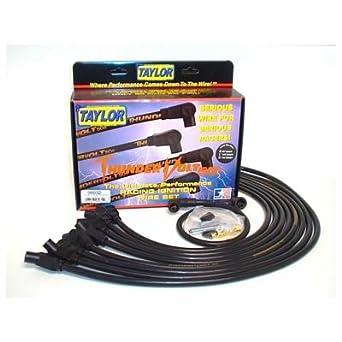 Taylor 98032 - Juego de Cables para Bujía, Color Negro: Amazon.es: Amazon.es