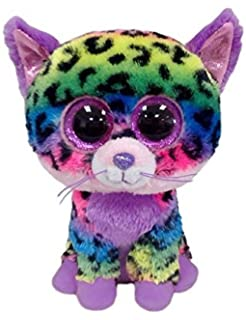 bf71e044632 Amazon.com  Ty Beanie Boos Trixie - Leopard (Justice Exclusive ...