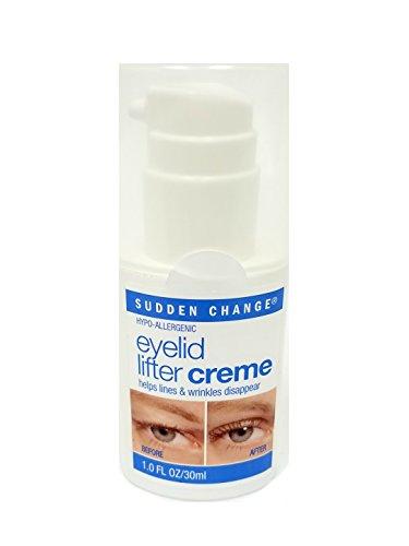 Sudden Change: Eyelid Lifter Creme, 1 oz (3 pack) (Best Eyelid Lifter Creme)