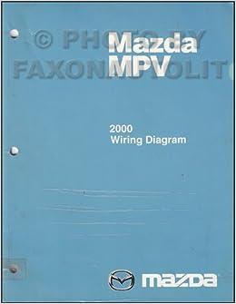 2000 Mazda MPV Wiring Diagram Manual Original: Mazda: Amazon.com: BooksAmazon.com