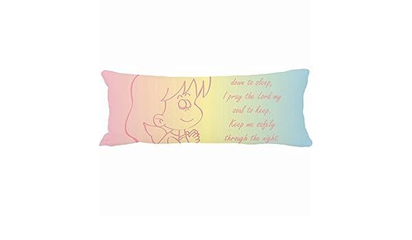 Decorativo almohadas diseño único de oración Ángel de la ...