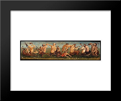 Tritons and Nereids 20x24 Framed Art Print by Piero di Cosimo