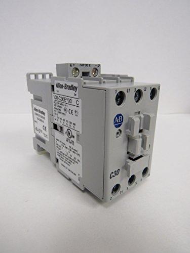 ALLEN-BRADLEY IEC 100-C30EJ10 STANDARD CONTACTOR 30 AMP 24 VDC