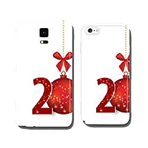 Christmas Greeting Card. Vector illustration. cell phone cover case Samsung S5