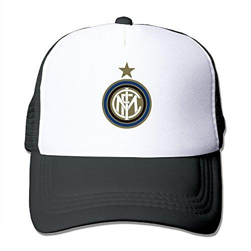 - Trucker Inter Milan Soccer Club Adjustable Mesh Back Baseball Cap Black