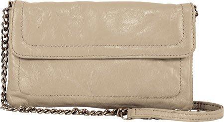 Latico Leather 7816pty Harlow Mimi East & West Chain Crossbody Bag - Putty 444352-9329266