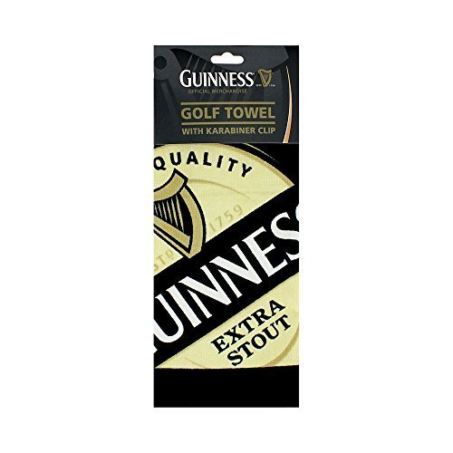 Guinness Label Golf Towel - Guinness Irish Label