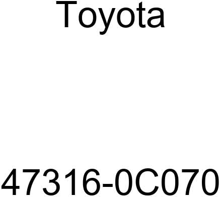 Genuine Toyota Parts No.6 Tube 47316-0C070 Fr Brake