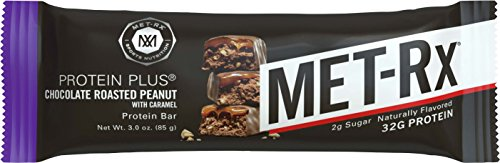Bar, Great as Healthy Meal Replacement, Snack, and Help Support Energy, Gluten Free, Chocolate Roasted Peanut with Caramel, 85 g, 9 Count ()