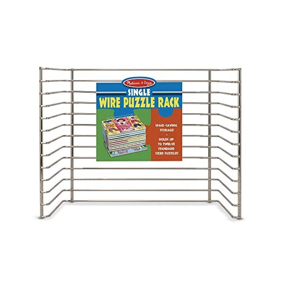 Melissa-Doug-Puzzle-Storage-Rack-Wire-Rack-Holds-12-PuzzlesPuzzles-Not-Included