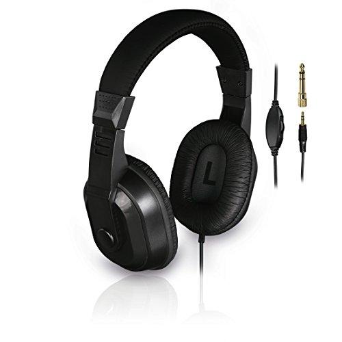 Thomson tv-hoofdtelefoon met lange kabel (over-ear, 8 m kabellengte, voor televisie en muziek luisteren, met…