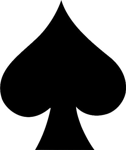 spade card sign  Amazon.com: Spade Card Suit Symbol Wax Seal Stamp: Toys & Games