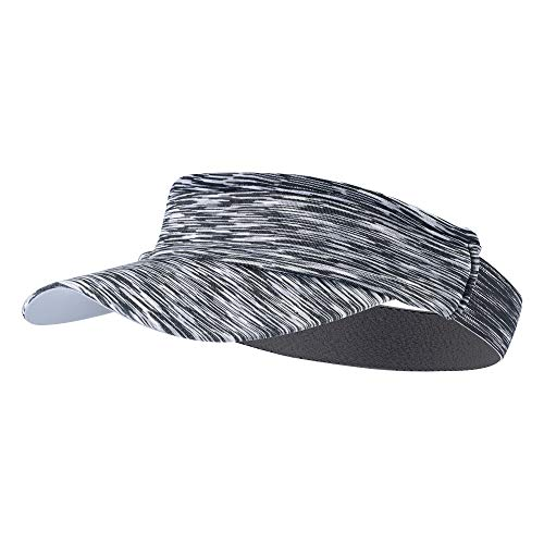 TEFITI Sports Fitness Sun Visor Moisture Wicking Headgear Cap Hats for Golf, Tennis, Cycling, Running (Gray)