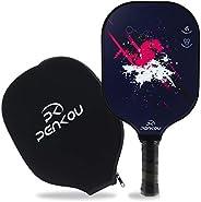 PENKOU Pickleball Paddle, Lightweight Graphite Surface & Polypropylene Honeycomb Core Pickleball Racket, S