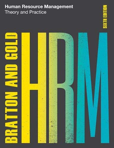 Human Resource Management, 6th edition: Theory and Practice -  John Bratton, Paperback