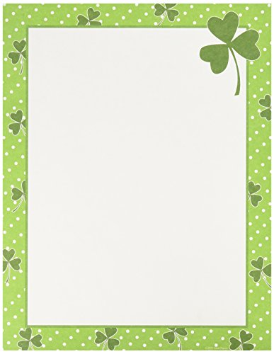 "Great Papers! Clover Dots Letterhead, 8.5""x11"", 80 Count (2013226)"