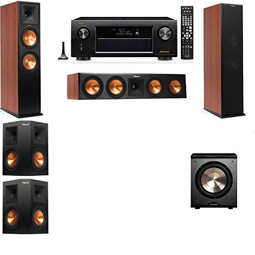 Klipsch RP-280F Tower Speakers CH-PL-200-5.1-Denon AVR-X4100W