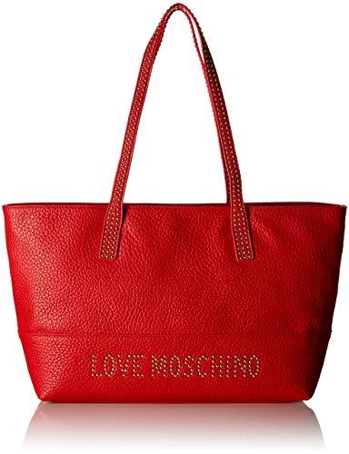 Tote Borsa Borse Moschino Rosso Donna Pu Love Grain gX16xnqx5