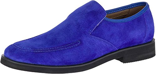 Hush Puppies Mens Bracco Mt Slip On In Scamosciato Blu Royal