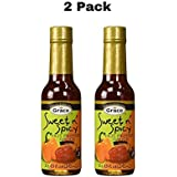Grace Sweet N' Spicy Hot Pepper Sauce Mild 5oz, Made in Jamaica (2 Pack)