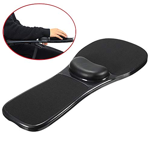 SKYZONAL Home Office Computer Arm Rest Chair Armrest Mouse Pad Mat Wrist Support
