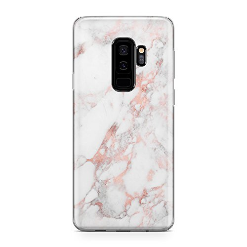 Galaxy S9 Plus Case uCOLOR Glitter Gradient Marble Slim Hard Shell Soft TPU Dual Layer Protective Case for Samsung Galaxy S9 Plus 6.2