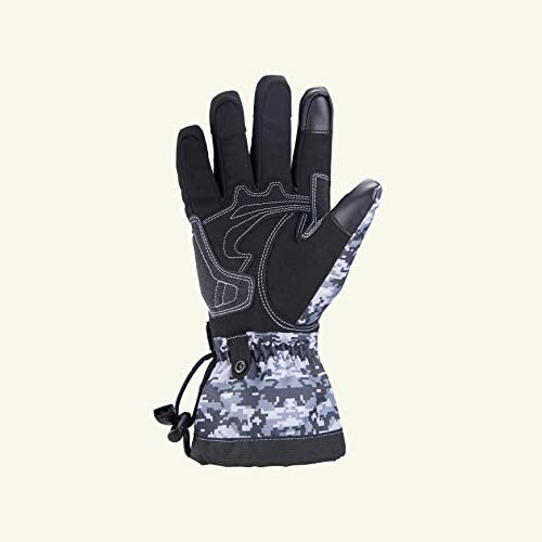 Waterproof Touch Screen Warm Motorbike Gloves for Cruiser Touring Commuter Adventure Motorcycle Riding Cycling Camouflage SCOYCO Winter Thermal Motorcycle Gloves for Men and Women
