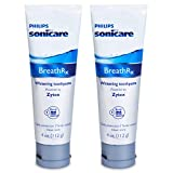 BreathRx Whitening Toothpaste, 4-Ounce Tubes (Pack of 2)