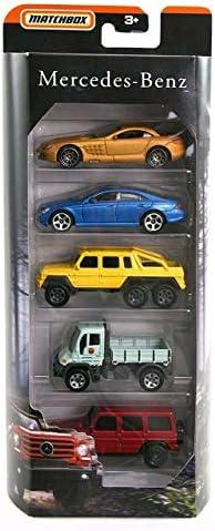 [해외]MBX Matchbox Mercedes Benz AMG Limited Edition 5 Pack SLR McLaren CLS 500 6x6 Unimog G-Class / MBX Matchbox Mercedes Benz AMG Limited Edition 5 Pack SLR McLaren, CLS 500, 6x6, Unimog G-Class