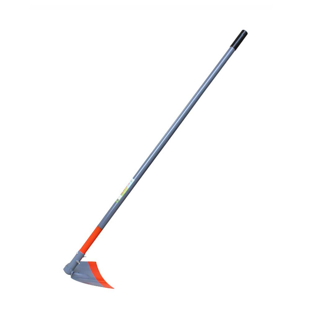 Assembled All Steel Farm Tools/Hoe, Garden Floral Household Agricultural Use Planting Vegetables Tool, Suitable for Turn Over The Ground Land Reclamation Weeding Digging,Flathoe(Small)