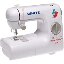 White W-100 Mighty Mender Lightweight Portable Compact Sewing Machine by White