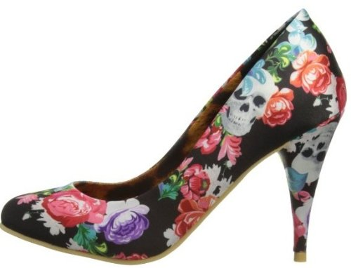 Iron Fist Roaming Heart Negro Multi New Mujeres Hi Heels Zapatos