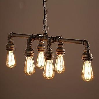 edison retro loft style vintage industrial pendant light lamp metal water lampara colgantes